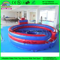 China Cheap price outdoor playground kids games inflatable chanical bull ride for sale shopping centers mechanical bull rodeo on sale