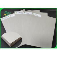 Buy cheap FSC 800GSM 1000GSM 2000GSM Grey Cardboard Thickness Customized For Covers from wholesalers