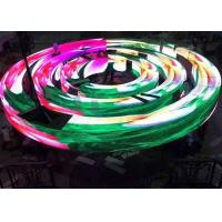 Buy cheap Effect Flexible Irregular LED Display / LED Video Display 5.95mm Pitch from wholesalers