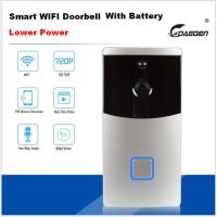 Buy cheap Lower Power Smart WIFI video doorbell with battery from wholesalers