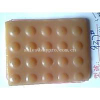 Buy cheap Round stud pattern shoe sole rubber material sheet , abrasion resistant from wholesalers
