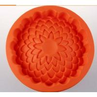 Quality round shape silicone cake pans ,silicone baking pans , flower shape silicone for sale