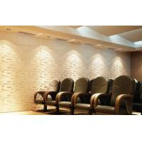 Quality Plant Fiber Precast 3D Wallpapers for Home Decor , Living Room 3D Object Wall for sale