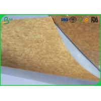 Stretching Resistance Kraft Liner Paper 400gsm 450gsm In Sheet / Roll Packing