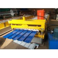 Buy cheap 2018 Hot market Galvanized Color Steel Roof Panel Roll Forming Machine 8-12m/ Min LC Control from wholesalers