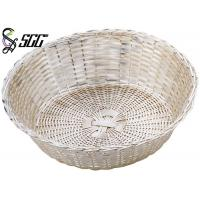 Buy cheap Durable Round Woven Stainless Steel Bread Basket Mirror Polish Or Matt Finish from wholesalers
