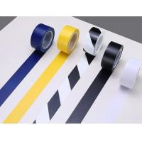 Buy cheap Safety Rubber Adhesive PVC Floor Marking Tape High Visibility RoHS Certification from wholesalers