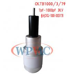 Buy cheap CKTB1000/3/79 HV Vacuum Variable Capacitor 7~1000pf Replace CV05C 1000 XN from wholesalers