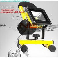 Buy cheap Rechargeable 10W energy saving light IP65 3 years warranty from wholesalers