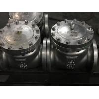 API 6D  SWING CHECK VALVE BB 600LB  Stainless steel CF3 CF3M CF8 CF8M  BOLT COVER RF RTJ FLANGE