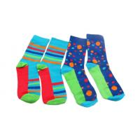 Buy cheap Soft Trendy Mens Socks Colorful Funky Cotton Fashion Patterned Socks Custom Make from wholesalers