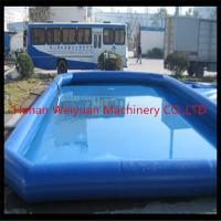 Buy cheap Certificated kids&adults inflatable swimming pool,large above ground inflatable pool from wholesalers