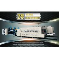 Buy cheap Fully Automatic Carton Making Machine , 380v Electrical Corrugated Box Machine from wholesalers
