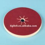 Buy cheap high quality Polishing felt wheels/glass Polishing felt buffing/ ROSH test passed from wholesalers