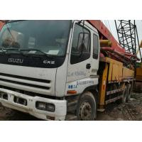 Buy cheap ISUZU 37m PM Japan Used Concrete Pump 42m 48m 52m Heavy Work Good Condition from wholesalers