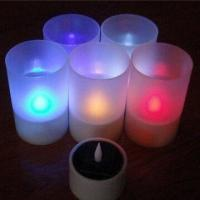 Buy cheap LED Solar Candle Light, Ideal for Gift from wholesalers