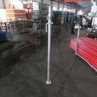 Buy cheap Building Materials Hot Dipped Galvanized Steel Jack Post product