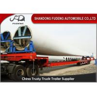 Buy cheap Steel Extendable Lowboy Trailer For 18 / 46 / 56 Meters Windmill Turbine Blade from wholesalers