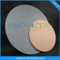 "Buy cheap Corrosion Resistance/porous ceramic disc/plate/tables for 6"" 8"" 12"" vacuum chuck/innovacera from wholesalers"