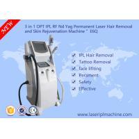 Buy cheap Clinic Skin Rejuvenation Beauty Equipment / Ipl Beauty Equipment Laser Tattoo from wholesalers