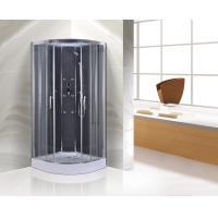 Chrome Profiles Quadrant Shower Cubicles , 900MM Quadrant Shower Enclosure