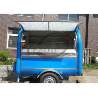 Buy cheap Commercial Cotton Candy Ice Crusher Machine Fiberglass Concession Trailers Most Popular from wholesalers