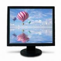 China 19-inch LCD PC Monitor with 4:3 Aspect Ratio and 300cd/m² Brightness on sale