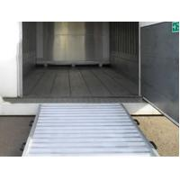 Buy cheap 11m Mobile Hydraulic Container Yard Ramps20 tons load from wholesalers