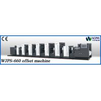Buy cheap New Type Automatic High Speed Offest Printing Machine (WJPS-PS660) from wholesalers
