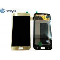 "Buy cheap 5.1"" Original Samsung Lcd Screen Replacement Gold Color Galaxy S6 Display from Wholesalers"