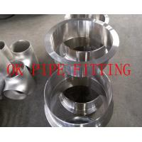 Buy cheap Materials and Manufacture. ASME/ANSI and MSS stainless steel buttwelding fi ttings are mos from wholesalers