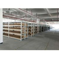 Buy cheap Cold Rolled Steel Light Duty Racking System With Metal Plate Adjustable Height from wholesalers