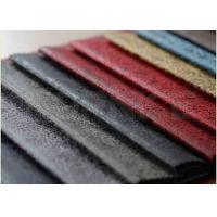 Buy cheap 0.22 Kg Microfiber Suede Leather Fabric Anti Pilling 100% Polyester from wholesalers