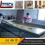 Buy cheap PVC film Doors vacuum membrane press machine from wholesalers