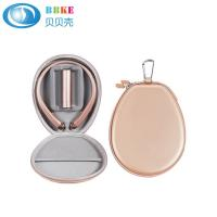 Buy cheap Custom Rose Gold Protective Eva Carrying Case , Splash Proof Headphone Hard Case from wholesalers
