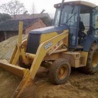 Buy cheap John Deere Wheel/Backhoe Loader with 1.5T Loading Capacity, Used in Construction from wholesalers