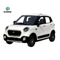 Buy cheap New Energy Electric Mini Car four seats high speed electric car from wholesalers