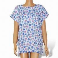 Buy cheap Women's Floral Blouse, Used in Hospitals or Household from wholesalers