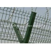 Buy cheap Airport Protective Metal Security Fencing , Galvanized Welded Wire Mesh Rolls from wholesalers