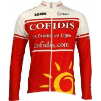 Buy cheap Cofidis long sleeve cycling jersey from wholesalers
