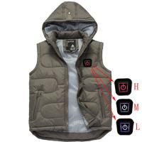 Buy cheap heated jacket with rechargeable battery heated vest from wholesalers