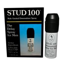 Buy cheap Ejaculation Sex Delay Stud 100 Male Desensitizer Spray Lidocaine Long Lasting from wholesalers