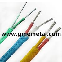 Buy cheap Heat resistant Teflon insulated Thermocouple Compensating Cable PVC Material from wholesalers
