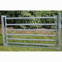 Buy cheap 80 x 40mm Oval Rail Horse Panel Gate from wholesalers