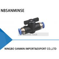 Buy cheap BVU Equal Straight Quick Connection Ball Valve Fittings For Air Compressor Pressure Pneumatic Devices Sanmin from wholesalers