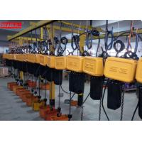 Buy cheap Professional Remote Control Electric Chain Block Hoist For Lifting Save Power product