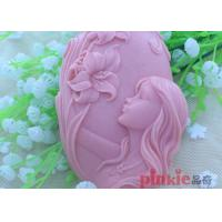 Buy cheap Reusable Girl Flower shaped DIY Silicone Soap Molds For Soap Making from Wholesalers