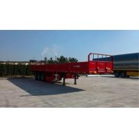 Buy cheap South America Aluminum Flatbed Semi Trailer Low Bed High Strength Steel from wholesalers