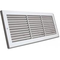 Buy cheap square aluminium egg crate air grille(linear deflection supply air grille,air louver) from wholesalers