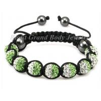 Buy cheap Handcraft Crystal Shamballa Bracelet , Swarovski Stone from wholesalers